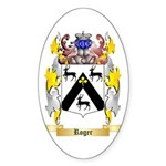 Roger Sticker (Oval 10 pk)
