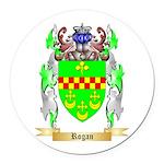 Rogan Round Car Magnet