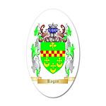Rogan 35x21 Oval Wall Decal