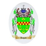 Rogan Oval Ornament