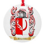 Rogalski Round Ornament