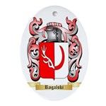Rogalski Oval Ornament