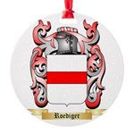 Roediger Round Ornament