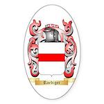 Roediger Sticker (Oval 50 pk)