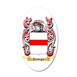 Roediger 35x21 Oval Wall Decal