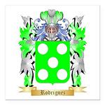Rodriguez Square Car Magnet 3