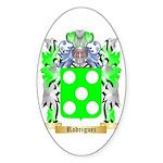 Rodriguez Sticker (Oval 50 pk)