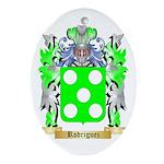 Rodriguez Oval Ornament