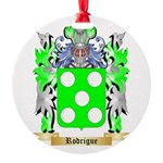 Rodrigue Round Ornament