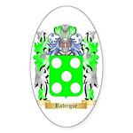 Rodrigue Sticker (Oval)