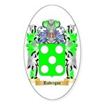 Rodrigue Sticker (Oval 50 pk)