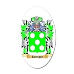 Rodrigue 20x12 Oval Wall Decal