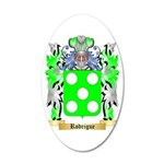 Rodrigue 35x21 Oval Wall Decal