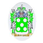 Rodrigue Oval Ornament