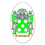 Rodrigo Sticker (Oval 10 pk)