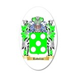 Rodolico 35x21 Oval Wall Decal