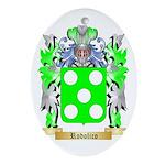Rodolico Oval Ornament