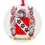 Rodman Round Ornament