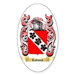 Rodman Sticker (Oval 50 pk)