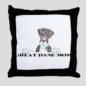 NMtlMrl LO Mom Throw Pillow