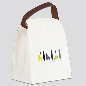 Mascara Weapon Canvas Lunch Bag
