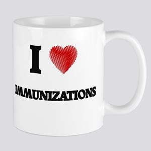 I Love Immunizations Mugs
