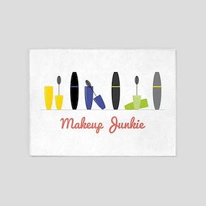 Makeup Junkie 5'x7'Area Rug