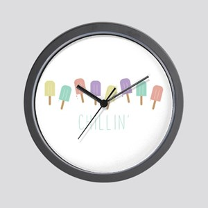 Chillin Popsicles Wall Clock
