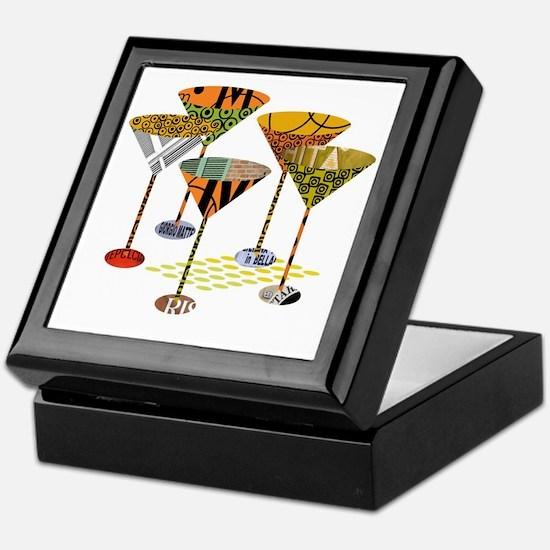 Cute Martini Keepsake Box