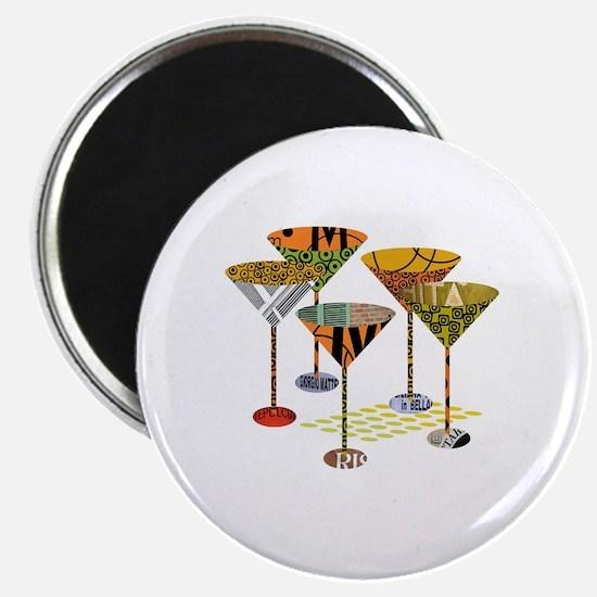 Cute Martini Magnet