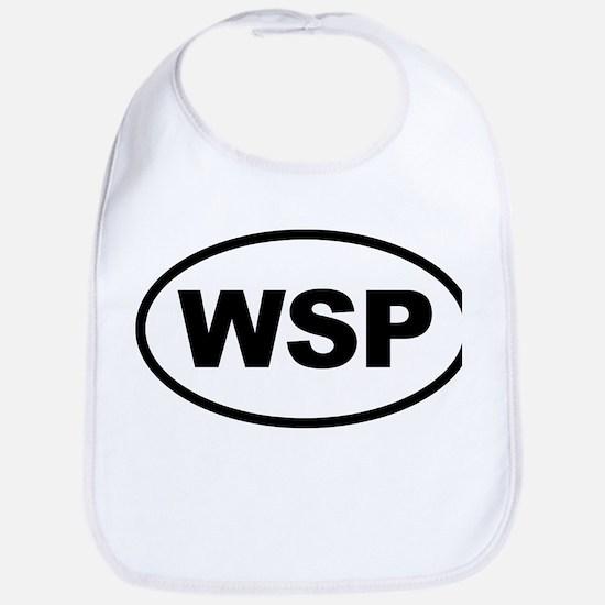 WSP Black Euro Oval Bib