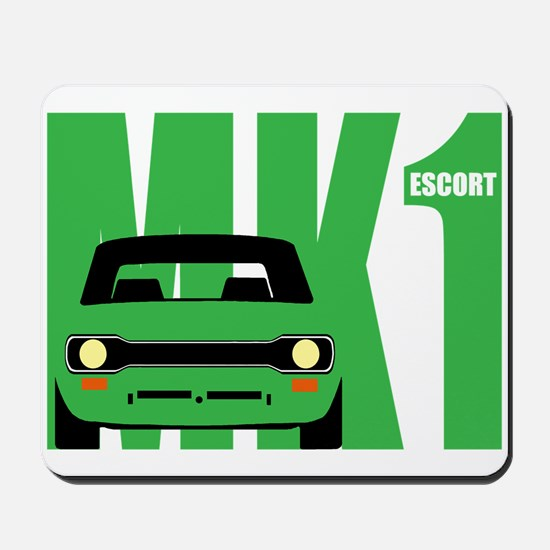 MK1 Escort Classic Cars Mousepad