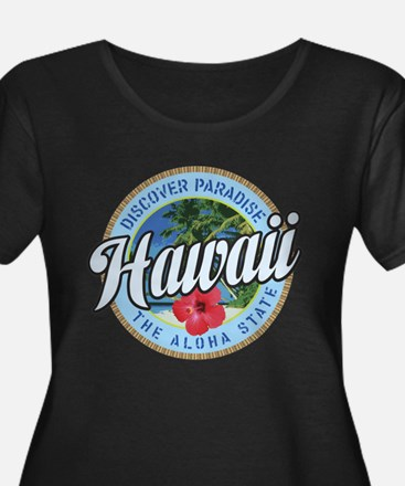 Discover Paradise Hawaii Plus Size T-Shirt