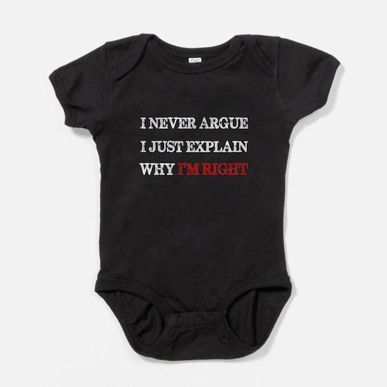 I'M RIGHT Baby Bodysuit
