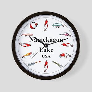 Namekagon Clocks Wall Clock