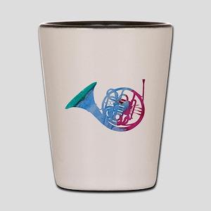 French Horn Shot Glass