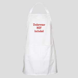 Underwear (red) BBQ Apron