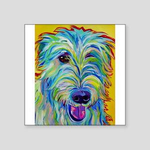 Irish Wolfhound Rectangle Sticker