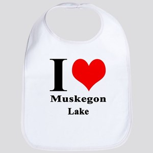 I heart Muskegon Lake Bib