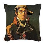 Modern Baron Woven Throw Pillow