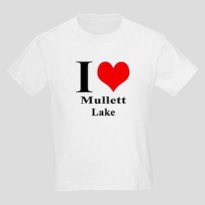 I heart Mullett Lake Kids Light T-Shirt