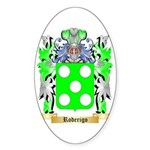 Roderigo Sticker (Oval 50 pk)