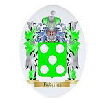 Roderigo Oval Ornament