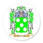 Roderighi Round Car Magnet