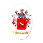 Roden Oval Car Magnet
