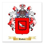 Roden Square Car Magnet 3