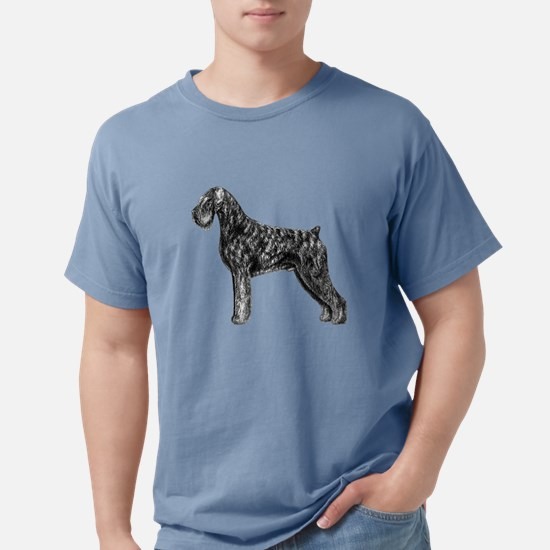 Giant Schnauzer Uncropped Standing Profile T-Shirt