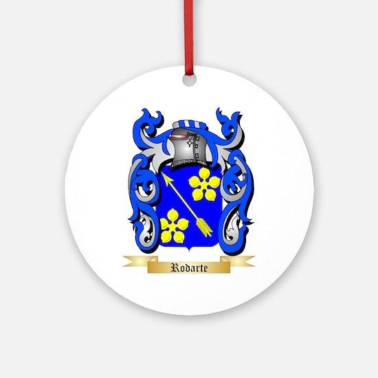 Rodarte Round Ornament