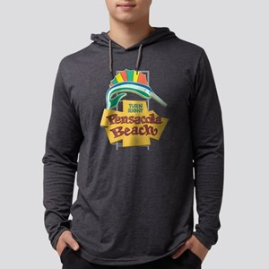 Pensacola Beach Sign, Florida Long Sleeve T-Shirt