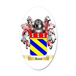 Rocco Oval Car Magnet